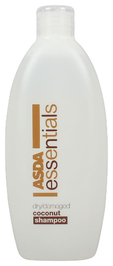ASDA Essentials Coconut Shampoo (500ml) [Source: mySupermarket.co.uk]