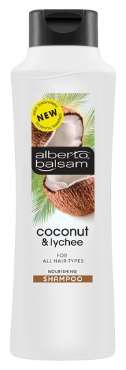 Alberto Balsam Coconut and Lychee Shampoo (350ml) [Source: Ocado]